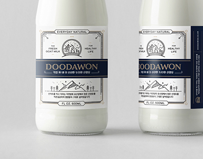 DOODAWON Goat Milk Package Design