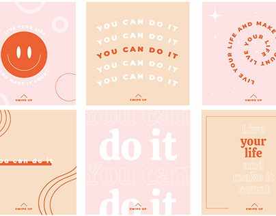 Diseños para redes sociales para Coaching Motivacional
