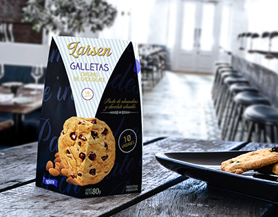 Larsen - Premium Cookies - Packaging Design