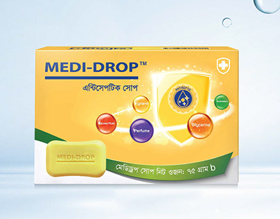 MEDI-DROP SOAP PACKAGING