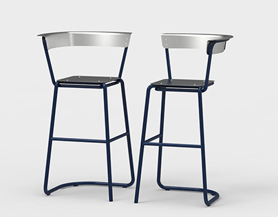 Bar Chair for Smoking