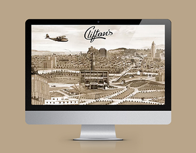 Clifton's LA Web and UX/UI Design