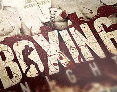 Boxing Night Poster