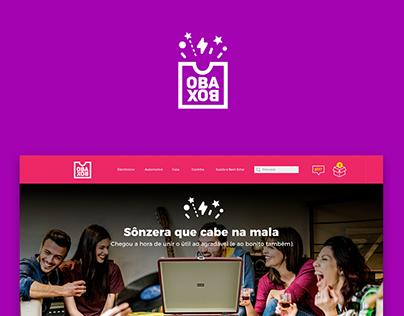 Web & UI UX Design | Landings pages Obabox