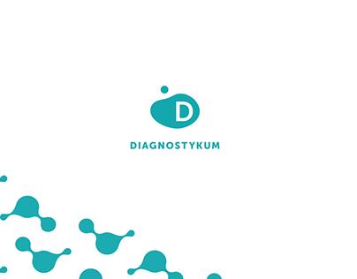 Diagnostykum branding and website