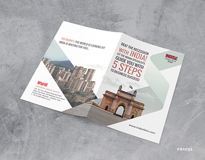Beat the recession - Collateral Print Design