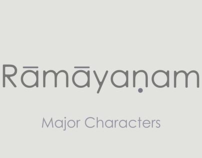 Ramayanam - Major Characters