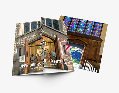 St. Mark's Episcopal Church Gate Fold Brochure 2017