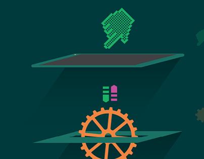 School work: HTML5 interactive animation