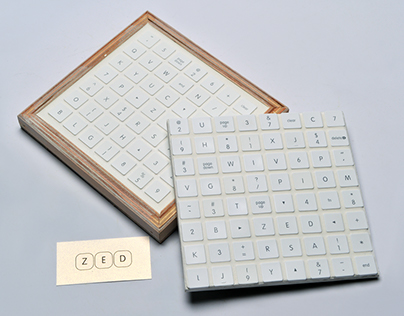 ZED Keyboard Key Tiles