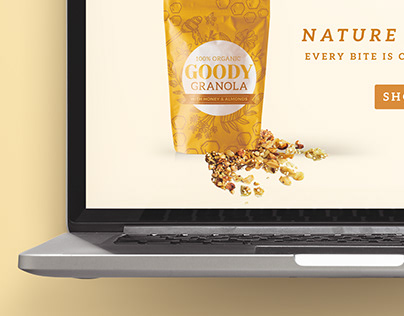 Honey Granola Web Design