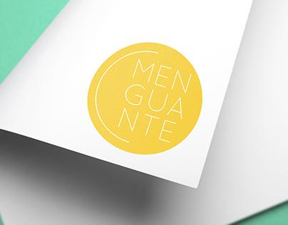Menguante · Logotipo