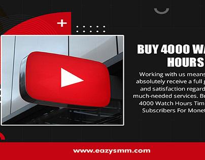Buy 4000 Watch Hours