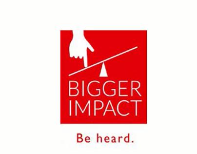 Bigger Impact: Visual Storytelling