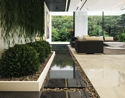 Combination Villa interior design by Amir Abbas Habibi