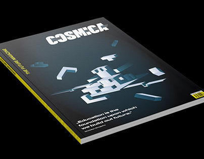 Coverdesign - Cosmica, The Future Magazine