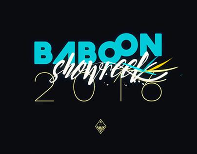 Baboon — Showreel 2016