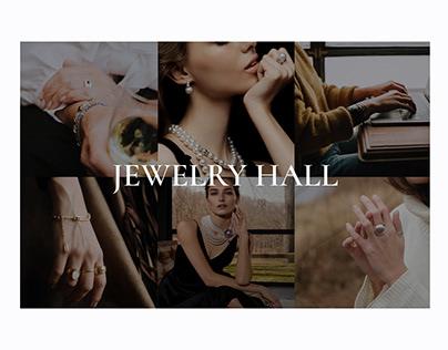 E-commerce    Concept Jewelry Store