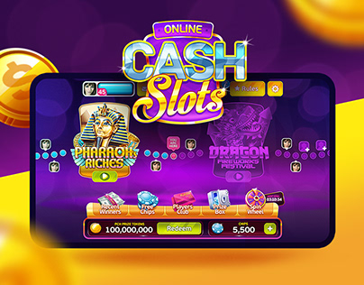 Cash Slots | mobile game ui
