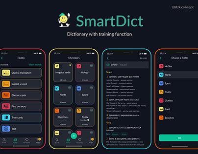 Dictionary (translate & memorize), Mobile App