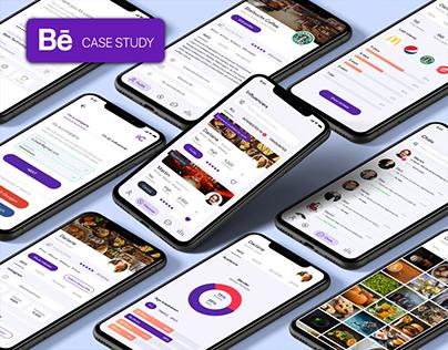 CloutIT UI/UX Case Study - Influencers App