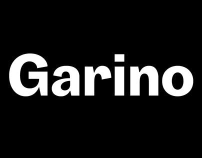Garino Typeface
