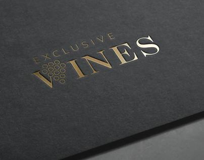 Logo EXCLUSIVE WINES koncept