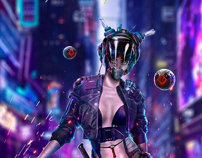 CyberPunk contest