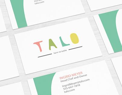 TALO Branding