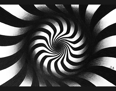 PENCIL DRAWING / WAVE 3D EFFECT