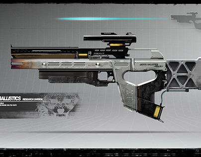 Jackal Lazer Rifle