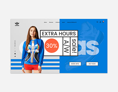 Adidas App for Web