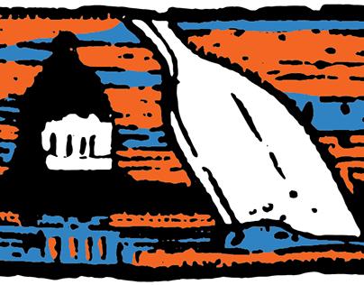 Wascana Racing Canoe Club Logo Restoration