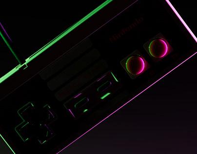 Nintendo neon glow system