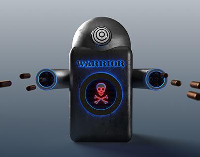 Adobe Dimension 3D Render - Warrior