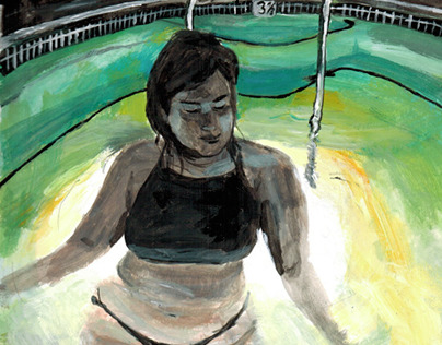 Filmstill Moods- Paintings/Illustrations (ongoing)
