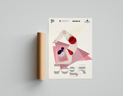 Joga event poster