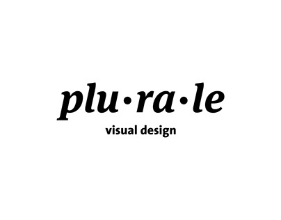 Plurale Visual Design – Visual Identity
