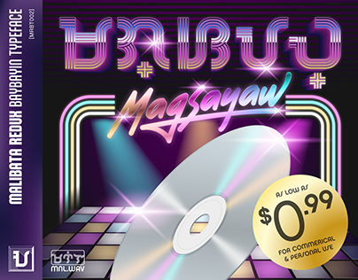 Malibata Redux Baybayin Typeface - Magsayaw