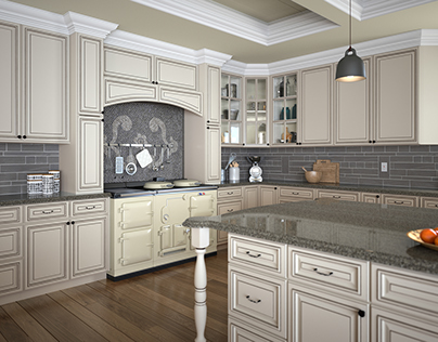 Kitchen Cabinetry CGI