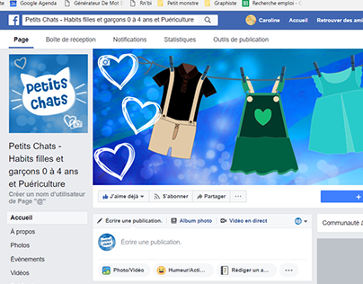 Page Petits Chats (Facebook)