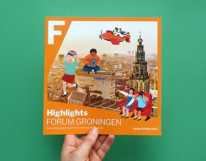 Folder Forum Groningen