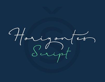 HORIZONTES SCRIPT Typeface
