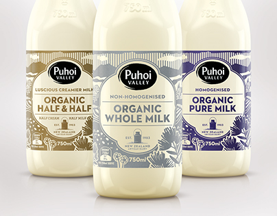 Puhoi Organic Milk