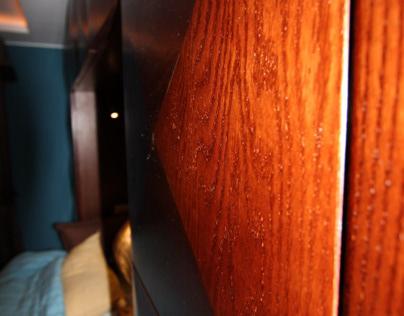 Wooden works : Master bedroom