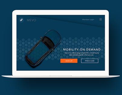 Branding for Mevo startup