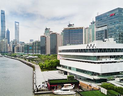 Shanghai Modern Art Museum & Riverbank