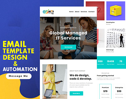 Agency - Responsive Email Template Design & Automation