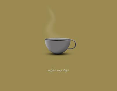 Coffee mug logo