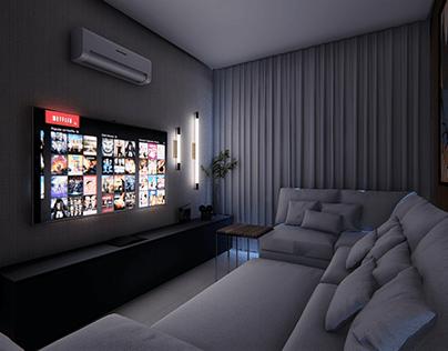 Sala de TV - Cotia
